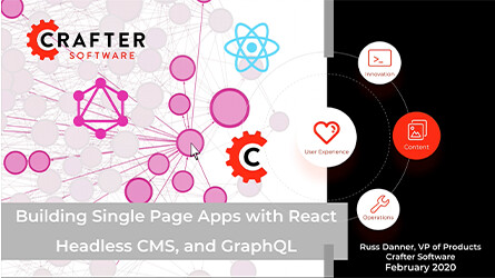 Building Single Page Apps with React, Headless CMS, and GraphQL