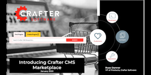 Announcing the Launch of Crafter CMS Marketplace