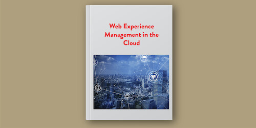 E-Book: Web Experience Management In The Cloud