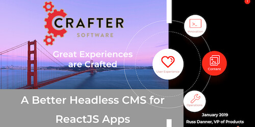 A Better Headless CMS for ReactJS Apps