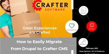 How to Easily Migrate from Drupal to Crafter CMS