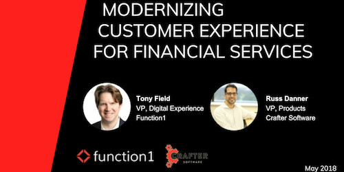 Modernizing Customer Experience for Financial Services